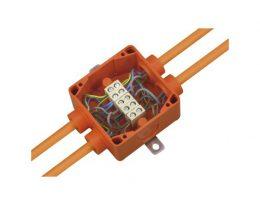 קופסת חיבורים חסינת אש - דגם WKE-2-5-6sp